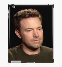 Sad Affleck iPad Case/Skin