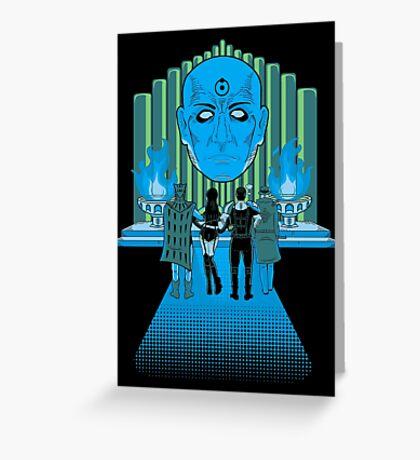 Watchmen Of Oz Greeting Card