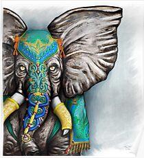 """Elegant Elephant"" Poster"