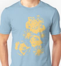 Roses and a Daisy Unisex T-Shirt