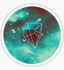 Geometry and Colors VI Sticker