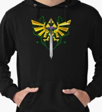 Master Sword and Triforce Lightweight Hoodie