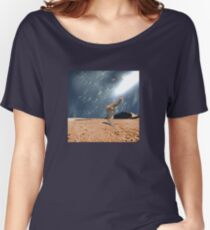 Left Behind  Women's Relaxed Fit T-Shirt