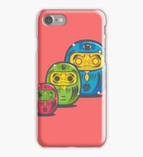 ZOMBIE MATRYOSHKA DARUMAS iPhone Case/Skin