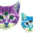 «Gatos locos» de Canyounotqueenb