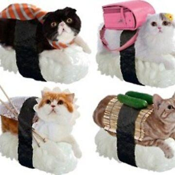 Gatos de sushi de Canyounotqueenb