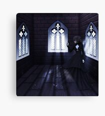 Haunted Interior and Ghost 4 Canvas Print