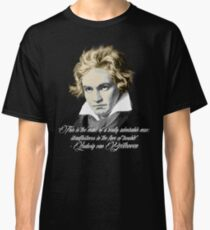 Beethoven Quote: admirable Classic T-Shirt