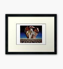 Taming Horses Framed Print