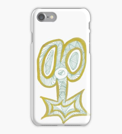 Key to the Scissors iPhone Case/Skin