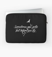 Who Are You Now? (black) Laptop Sleeve