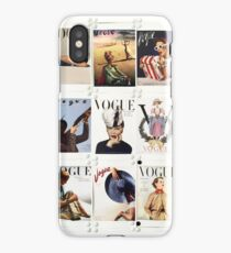 Vintage Vogue iPhone Case/Skin