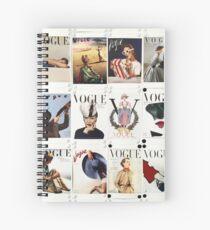 Vintage Vogue Spiral Notebook