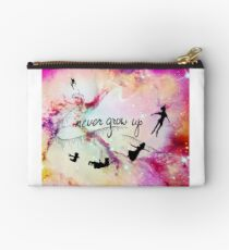 Never Grow Up  Studio Pouch