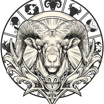 Zodiac Aries by rahmenlos