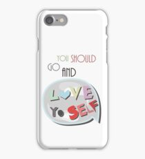 Love Yourself iPhone Case/Skin