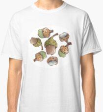 Watercolor Acorns Classic T-Shirt