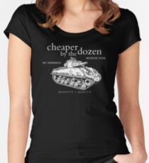 M4 Sherman Tank Women's Fitted Scoop T-Shirt