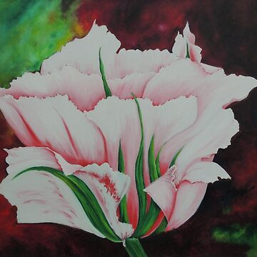 China Town Tulip by LindaZArtist
