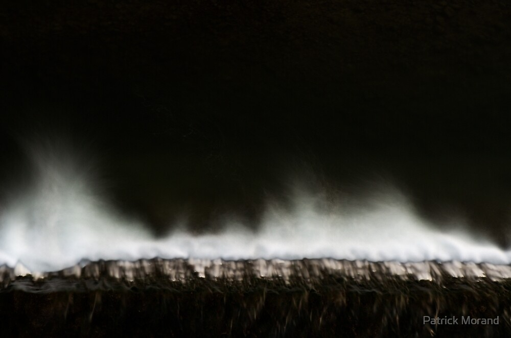 White and dark water by Patrick Morand