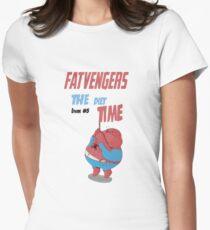 FATVENGERS - SPIDERMAN Women's Fitted T-Shirt