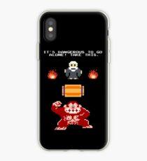 Donkey Kong Zelda iPhone Case