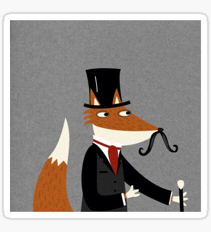 Sir Fox Sticker