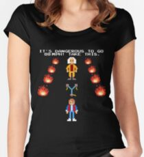 Back To The Zelda Women's Fitted Scoop T-Shirt