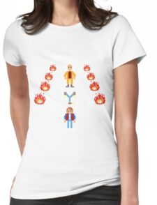 Back To The Zelda Womens Fitted T-Shirt