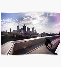 Cubicle lament - Southbank Melbourne Poster