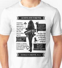Rebekah Quotes Unisex T-Shirt