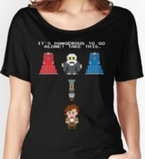 Doctor Who Meets Zelda Women's Relaxed Fit T-Shirt