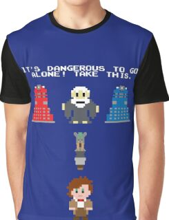 Doctor Who Meets Zelda Graphic T-Shirt