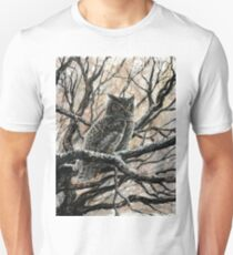 Winter Owl Unisex T-Shirt