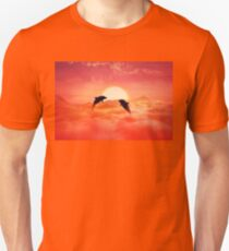 flying dolphins Unisex T-Shirt