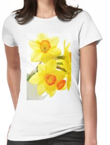 Narcissus Womens Fitted T-Shirt