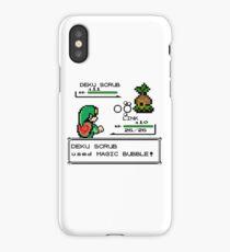 Zelda Pokemon Fight iPhone Case/Skin