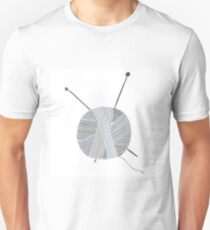 Hand drawn ball of yarn Unisex T-Shirt