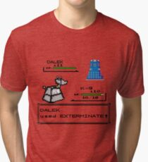 Doctor Who Pokemon Battle Tri-blend T-Shirt