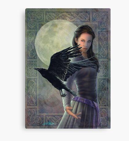 Celtic Raven Canvas Print