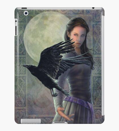 Celtic Raven iPad Case/Skin