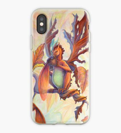 Maple Leaf Fairy Dragon iPhone Case