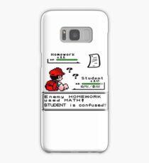 Homework Pokemon Battle Samsung Galaxy Case/Skin