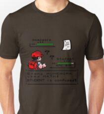Homework Pokemon Battle Unisex T-Shirt