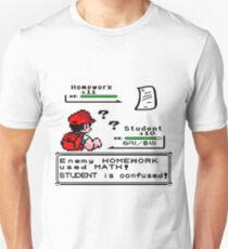 Homework Pokemon Battle T-Shirt