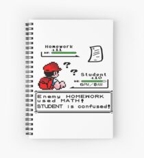 Homework Pokemon Battle Spiral Notebook