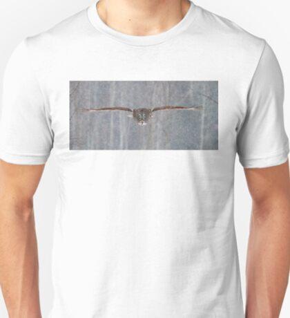 Full speed - Great Grey Owl T-Shirt