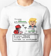 Donald Trump Pokemon Battle Unisex T-Shirt