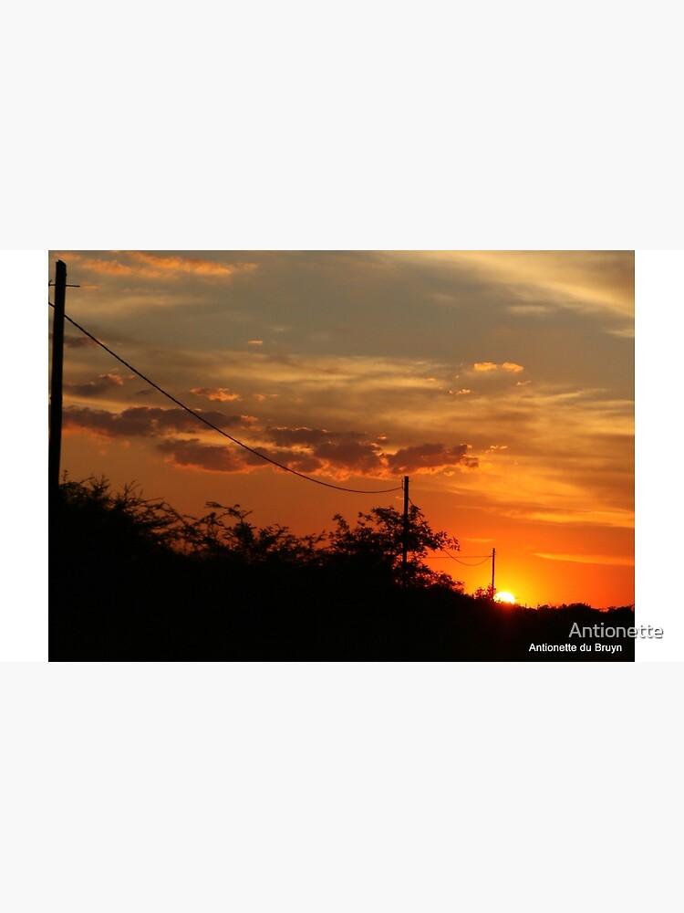 Sonnenuntergang Folie von Antionette