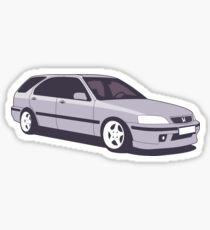 Honda Civic Aerodeck Sticker